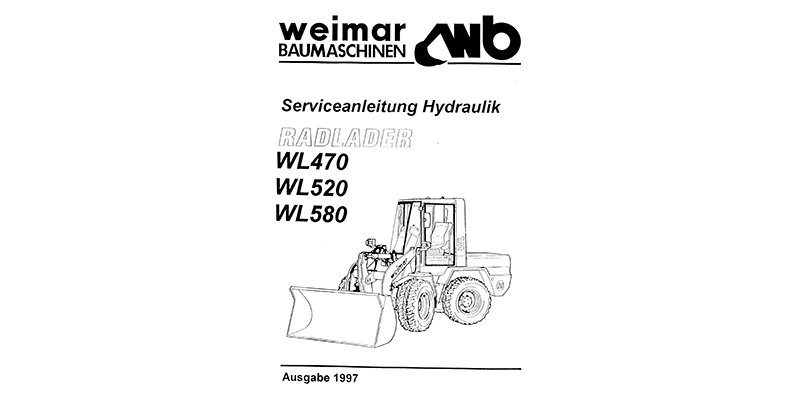 WL 470 - 520 - 580 Serviceanleitung