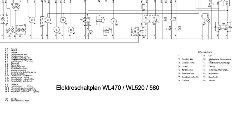 WL470-WL520-WL580-Elektroschaltplan mit Display