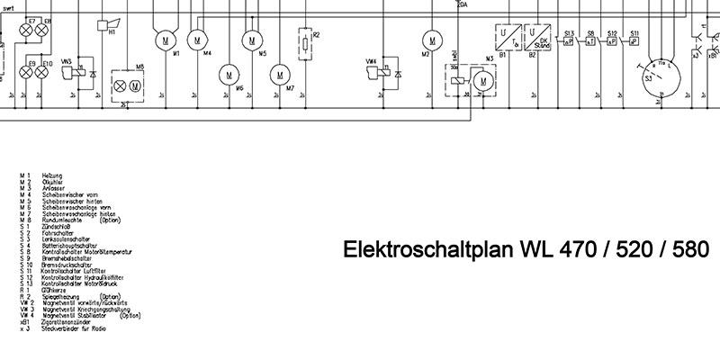 WL470-WL520-WL580-Elektroschaltplan ohne Display