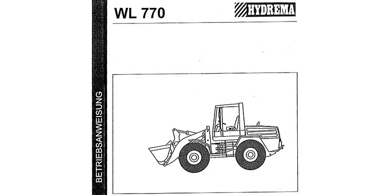 WL770 Betriebsanweisung