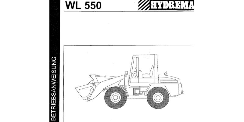 WL550-Bedienanweisung
