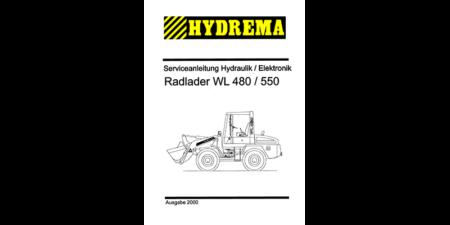 HYDREMA WL480 - WL550 Serviceanleitung Hydraulik