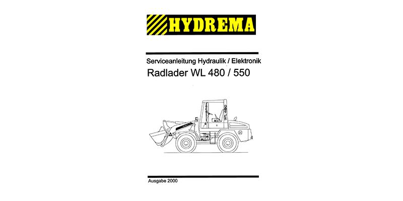WL480-WL550 Serviceanleitung Hydraulik
