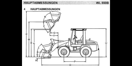 HYDREMA WL550B - Betriebsanweisung