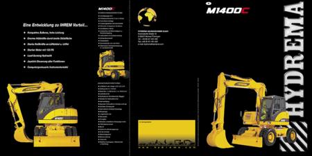 Prospekt 2006 - HYDREMA <br>Mobilbagger M1400C
