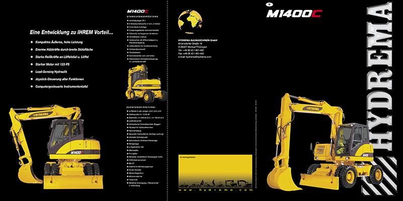 M1400C-2 Seitenprospekt