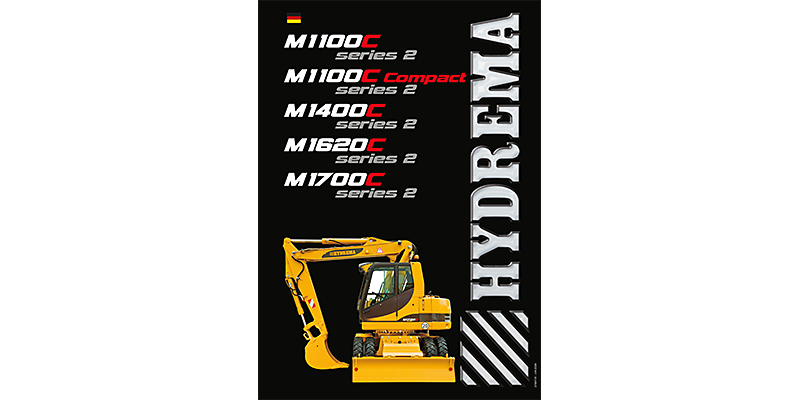 M1100C series 2 / M1100C compact series 2 / M1400C series 2 / M1620C series 2 / 1700C2 series 2 Betriebsanleitung