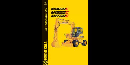 Betriebsanleitung M1400 - M1520 - M1700