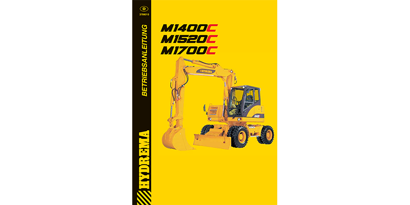 M1400 - M1520 -M1700 Bedienanweisung