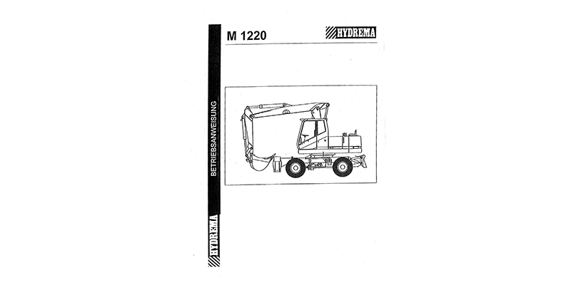 M1220 Betriebsanweisung