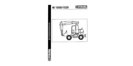 Betriebsanweisung M1500B - M1520B