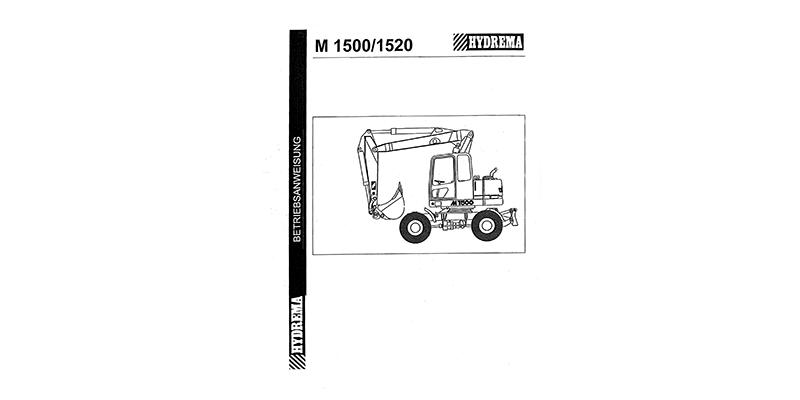 M1500 - M1520 Betriebsanweisung