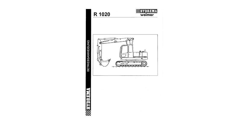 R1020 Betriebsanweisung