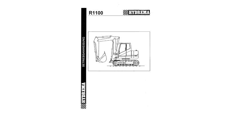 R1100 Betriebsanweisung