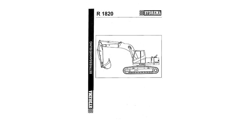 R1820 Betriebsanweisung