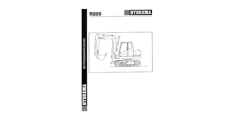 R800 Betriebsanweisung