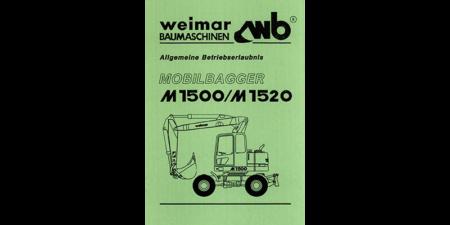 Allgemeine Betriebserlaubnis M1500 / M1520