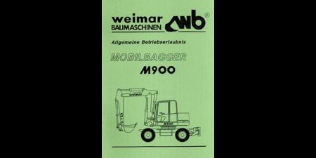 Allgemeine Betriebserlaubnis M900