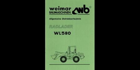 Allgemeine Betriebserlaubnis WL580